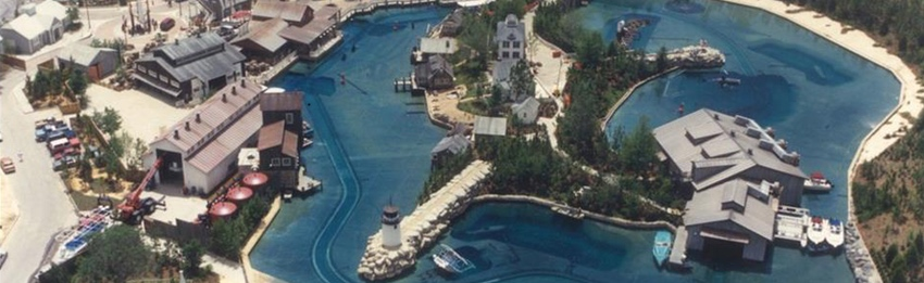 JAWS ride from above 1990